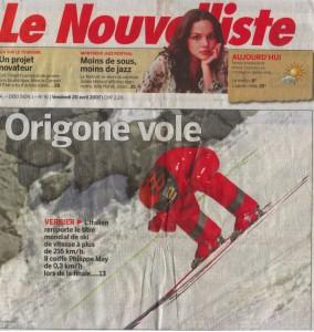 20-04-2007 Le Nouvelliste