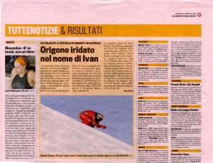 01-23-2009 La Gazzetta dello Sport