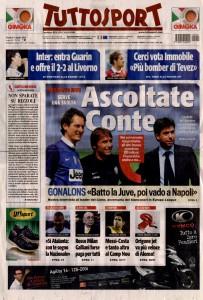 04-01-2014 Tuttosport pag. 1
